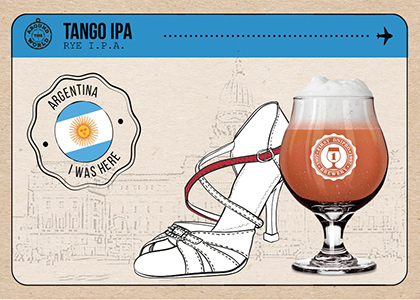 FDB Around the World «Tango IPA» в Море Пива и HOP HEY
