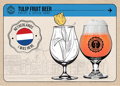FDB Around the World «Tulip Fruit Beer» в Море Пива та HOP HEY