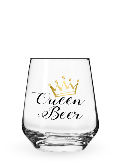 Бокал «Stemless Queen Beer» 0.4l