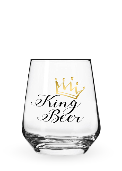 Келих «Stemless King Beer» 0.4l