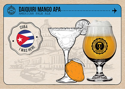FDB Around the World «Daiquiri Mango APA» в Море Пива та HOP HEY