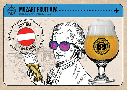 FDB Around the World «Mozart Fruit APA» в Море Пива та HOP HEY