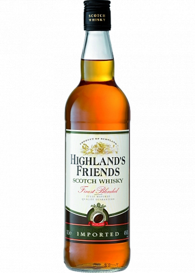 Віскі Fauconnier Highland's Friends 40°