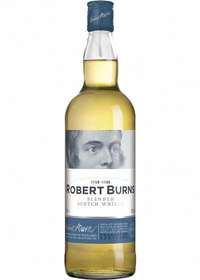 Віскі Robert Burns Blend In Tube 40°