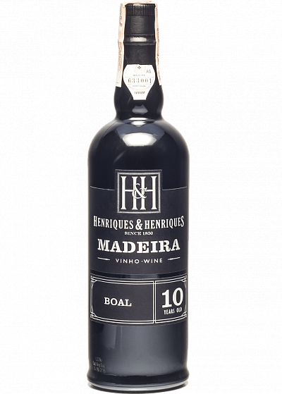 Вино Henriques & Henriques Madeira Boal 10y.o біле кріплене 20°
