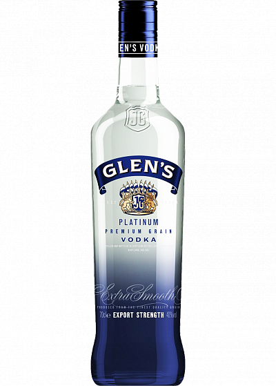 Водка Glen's Platinum Vodka 40°