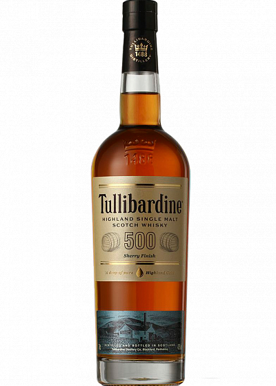 Виски Tullibardine Sherry Finish 500 43°