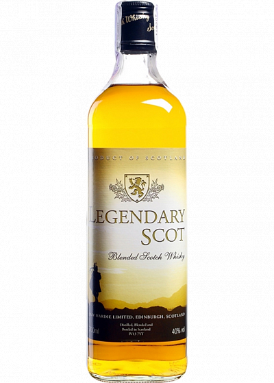 Віскі J&W Hardie Legendary Scot Blended Scotch 40°