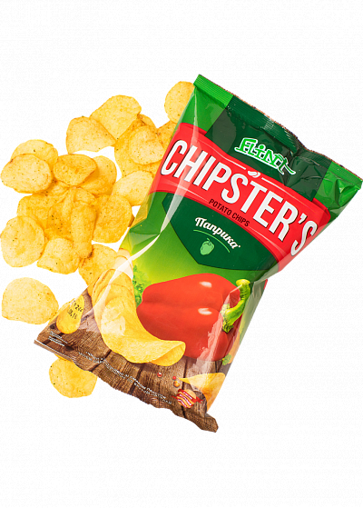 Чіпси до пива Chipsters «Паприка» 70г