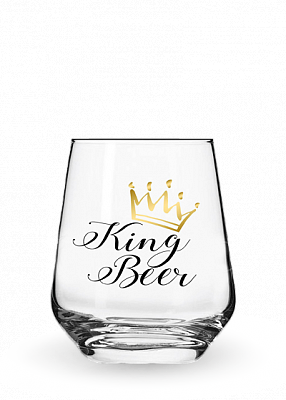 Бокал «Stemless King Beer» 0.4l
