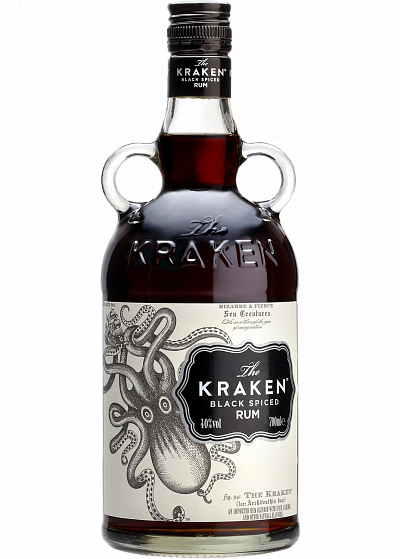 Ром Kraken Dark Spiced 40°