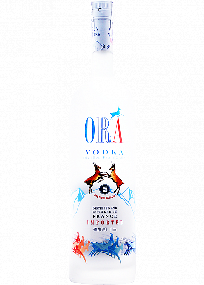 Водка ORA blue vodka 40°