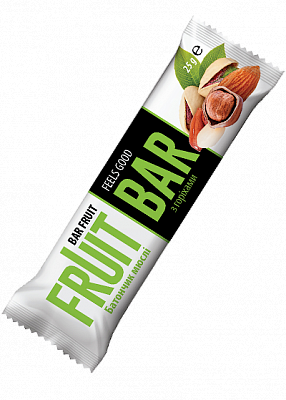 Батончик-мюсли «Fruit Bar» с орехами, 25 г