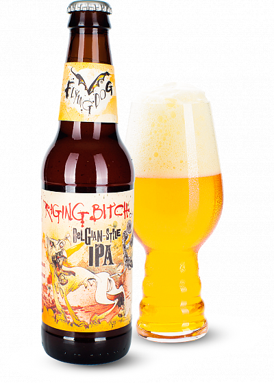 Пиво Flying Dog «Raging Bitch Belgian Style IPA» світле нефільтроване 8.3°