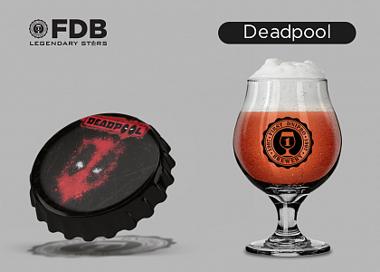 FDB Legendary Stars Deadpool в Море Пива