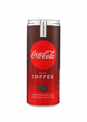 Напиток «Coca-Cola» Zero Coffee 0.25л