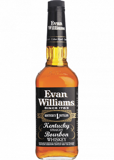 Бурбон Heaven Hill Distilleries Evan Williams Black 43°