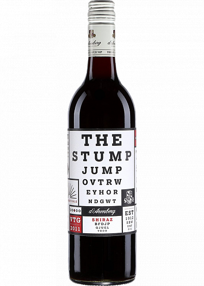 Вино d'Arenberg Stump Jump Shiraz красное сухое 14.3°