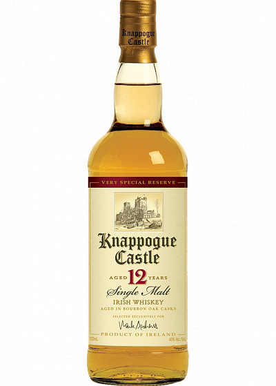Виски Knappogue Castle Single Malt Aged 12Y.O. 40°